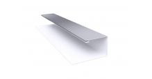 Металлические доборные элементы для фасада в Липецке Планка П-образная/завершающая сложная 20х30