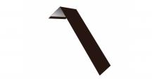 Металлические доборные элементы для фасада в Липецке Планка лобовая/околооконная простая 190х50